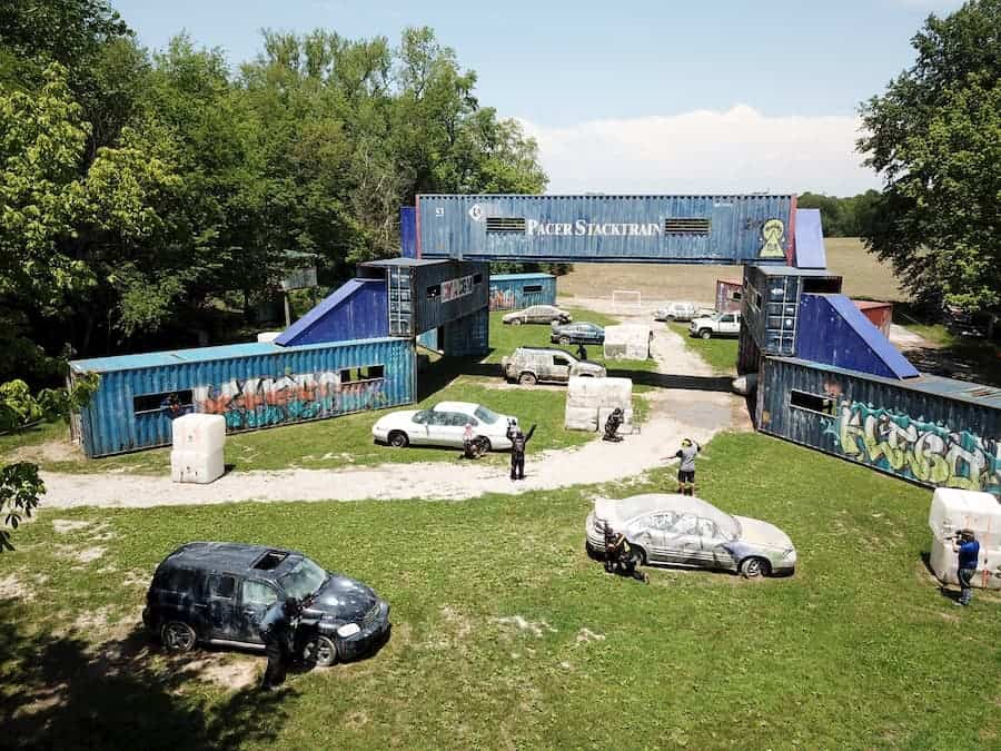 shipyard course at xtreme paintball park