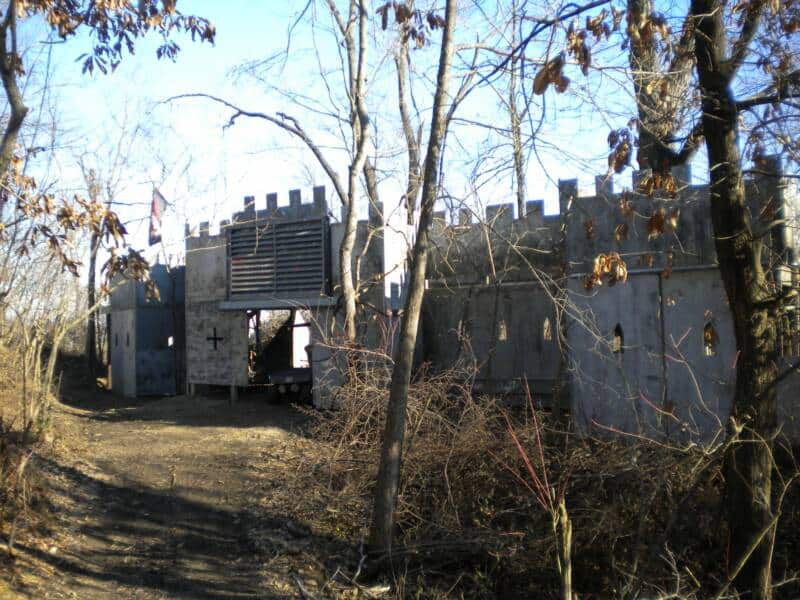 castle at st. louis paintball park