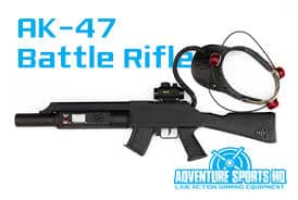 ak-47 laser tag battle rifle