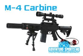 M-4 carbine laser tag rifle